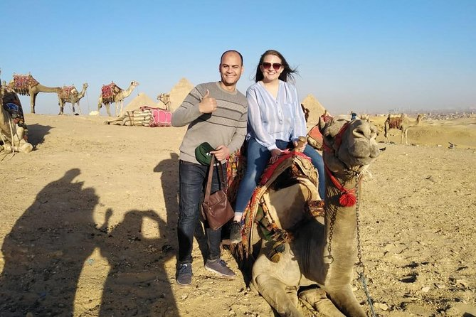 guided-tour to Giza Pyramids and the Egyptian museum with Camel ride