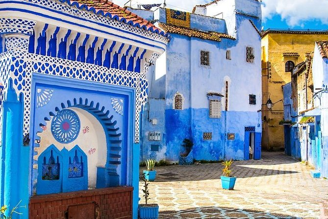 Day tripfrom Fes to Chefchaouen and Akchor water falls photo 1