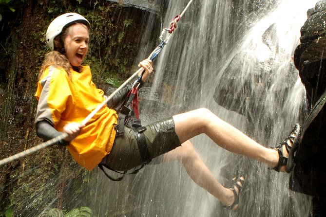 Canyoneering and Canopy Tour in Turrialba