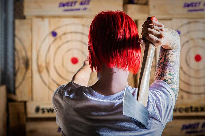 Axe Throwing - 2 hour experience