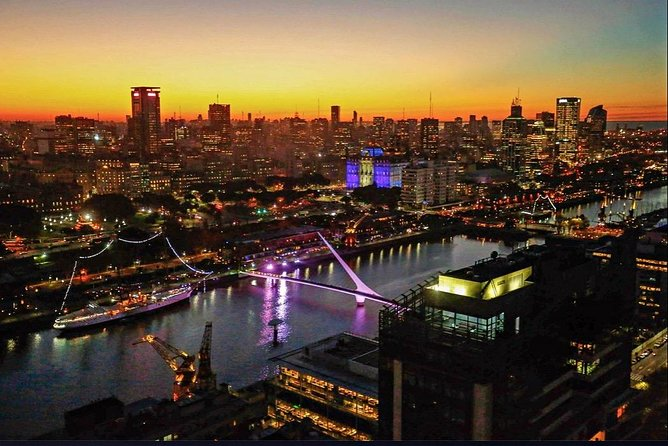 Premium Private City Tour of Buenos Aires + Sunset Drink at Sky Bar