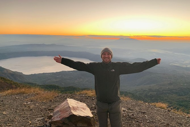Santa Ana volcano hike with privileged early access. Go safe and skip the crowds