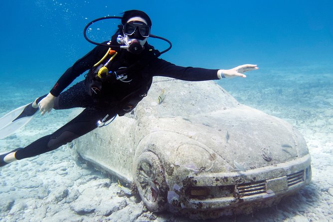 Try Dive in Cancun Underwater Museum