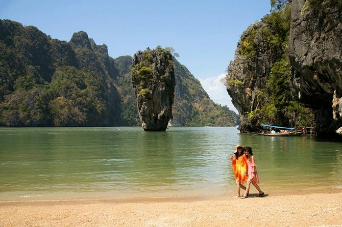 James Bond Island, Panak & Hong Island Trip + 1 Canoeing By Big Boat From Phuket