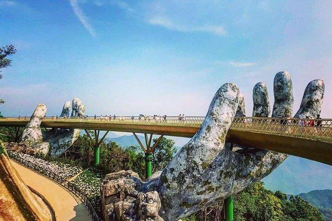Private Shore Excursion to My Son Sanctuary & Golden Bridge Ba Na via Cable Car