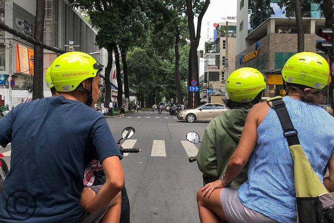 Saigon city half day tour on scooter