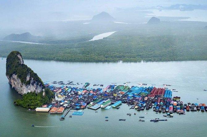 James Bond, Panyee Village, Panak and Hong Island Trip By Big Boat From Phuket
