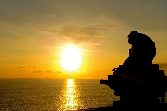 1 DAY Kecak Dance Appreciation at Uluwatu Temple & Taman Ayun Temple / Private Tour 12 Hours] Superb View of Nature Baharais Terrace etc. ️ With English / Japanese driver