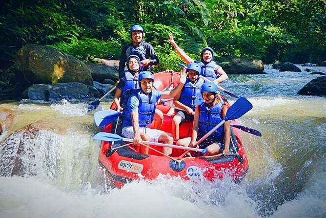 Full Day Rafting and ATV Ride Trip in Ayung River with Lunch