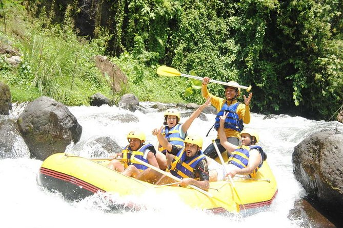 Half-Day Rafting Adventure in Telaga Waja River