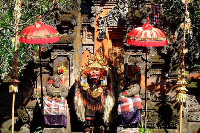 1 DAY Barong Dance & Tegalalang Rice Terrace / Private Tour 8 Hours / Tiltapur, Goa Gajah Ruins, Goa Langling Waterfall etc./English/Japanese driver included