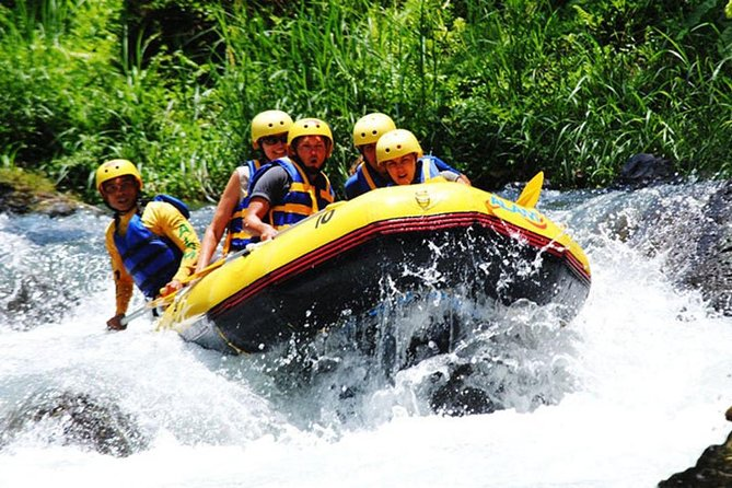 Full Day Rafting and ATV Ride Trip in Telaga Waja River with Lunch