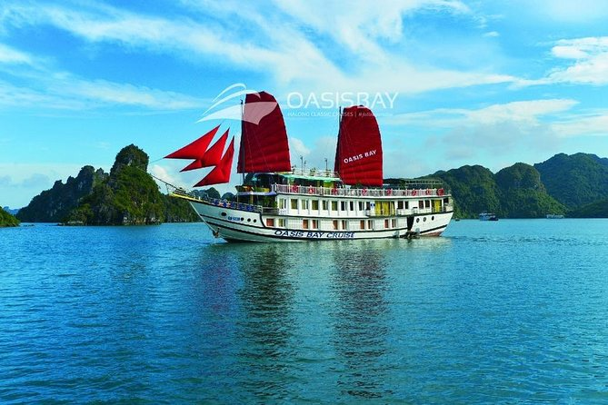 Oasis Bay Calssic- Ha Long Bay Cruise 2 Days 1 Night