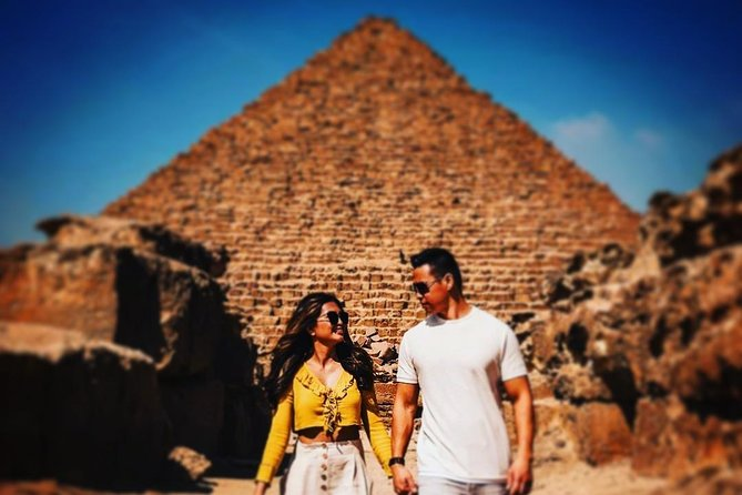 Private Day Trip to Giza Pyramids Saqqara and Memphis Lunch and Camel Ride