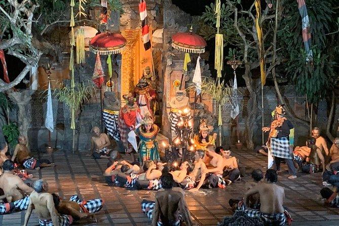 1 DAY Jati Rui Rice Terrace & Kecak Dance Appreciation Private Tour 8 Hours / Marga Hero Cemetery, Buddhist Monkey Temple etc./English/Japanese driver included