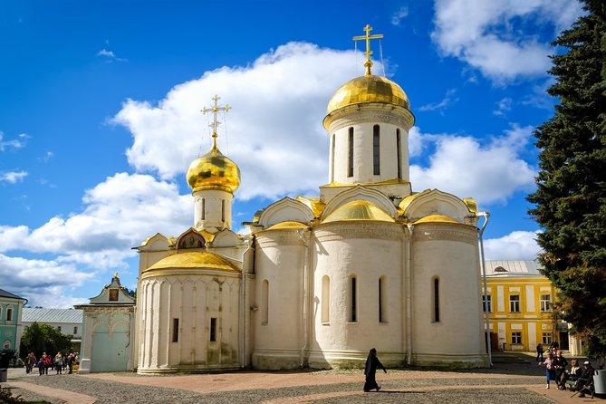 Sergiev Posad and Holy Trinity Monastery Tour