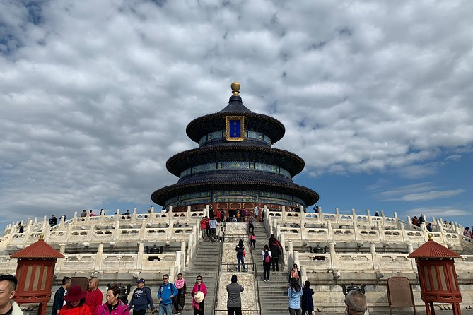 Beijing Private Night Tour: Temple of Heaven, Qianmen Street and Folk Art Show