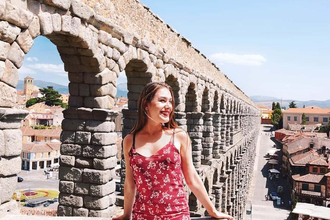 From Madrid : Full-Day Avila and Segovia ComBo Tour (with Transportation)