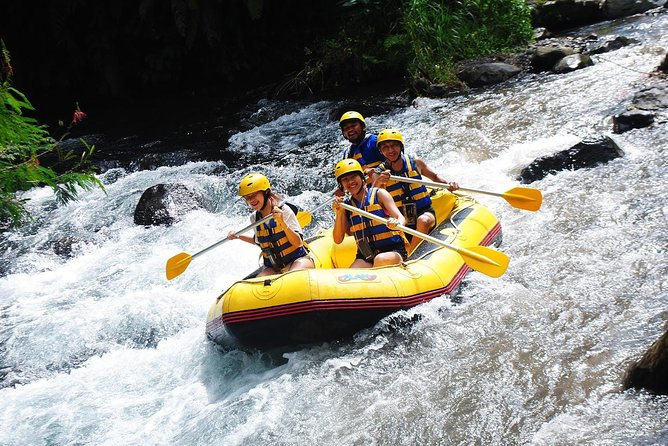 Full-Day Rafting Adventure in Telaga Waja River and Shopping Tour Packages