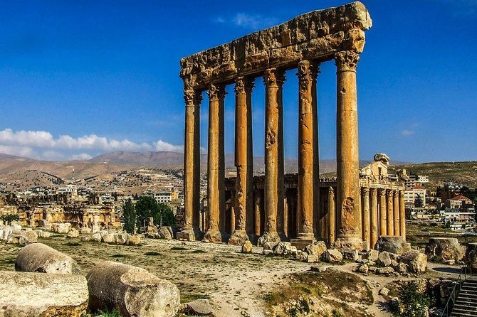 Half-day Baalbeck private great guide/all-in + meal