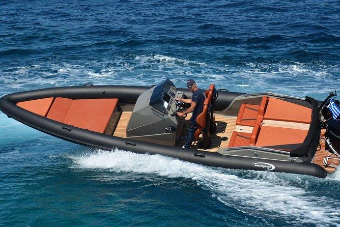 Mykonos Sailing   Summer 30ft.   Private Cruises around Mykonos (per hour)