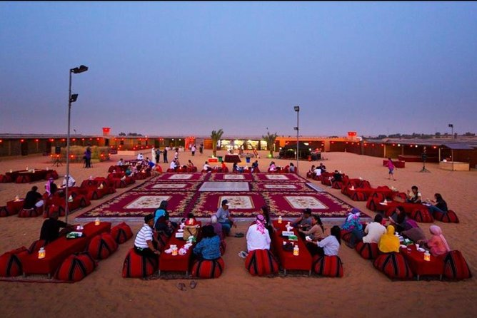 Dubai Evening Desert Safari With BBQ Dinner