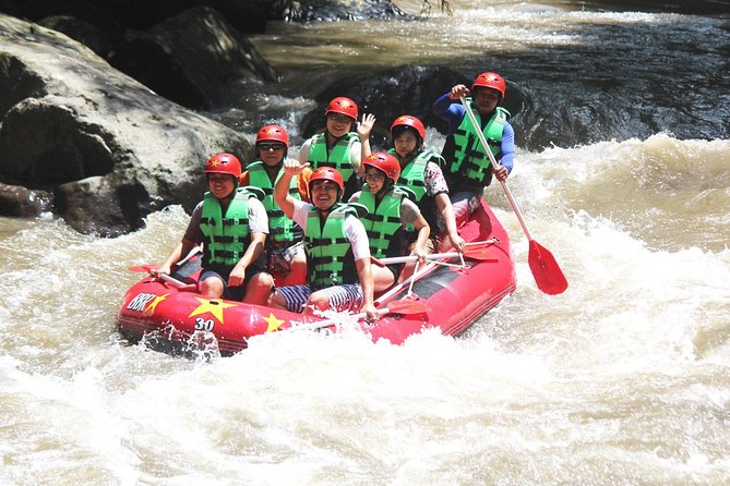 Full-Day Rafting Adventure in Ayung River and Exploring Tour to Ubud