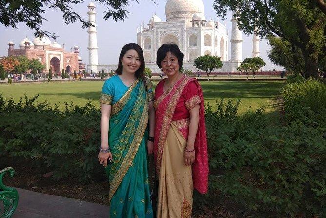 Full Day Taj Mahal Tour by Gatimaan Express from Delhi