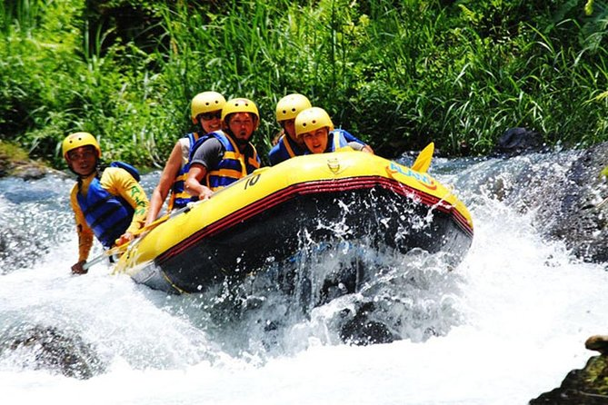Full-Day Rafting Adventure in Telaga Waja River and Kintamani Tour