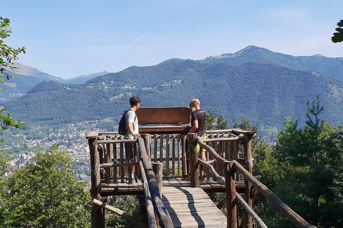 Lake Como: Adventure day in Spina Verde Regional Park