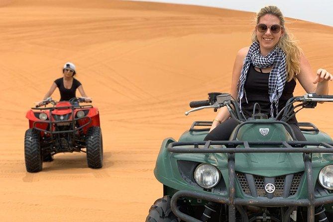 Evening Desert Safari with Quad Bike, Dune Bashing, Entertainments, BBQ Dinner