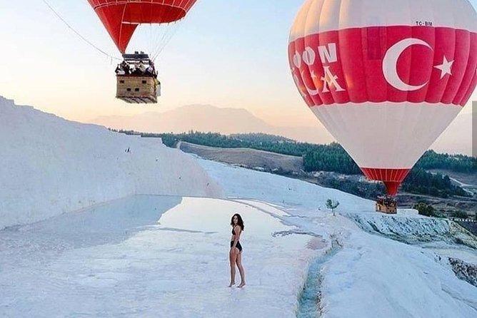 Best Rates Pamukkale Hot Air Balloon Tour