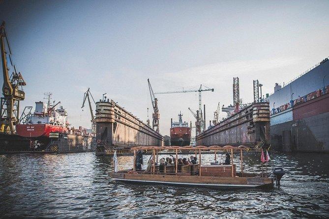 Shipyard Guided Cruise on a Historical Polish Boat