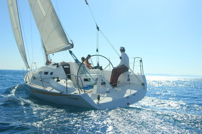 Full-Day Private Sailing Tour from Island Vis with Snorkeling