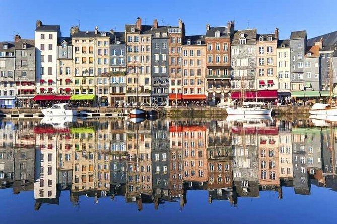 Normandy, medieval Rouen, Calvados, Honfleur. Private tour 8 p .= 225 e. each