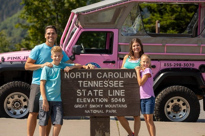 Foothills Parkway Tour by Open-Air Jeep