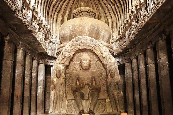 Audio Guided Tour Of Ellora Buddhist Caves, Aurangabad