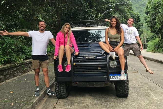 Tijuca Forest Jeep Tour & Pedra Bonita Hike