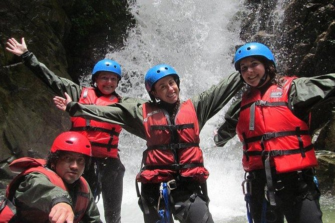 Canyoning   Salto A Pozas   Tiroline   Rapel   Buceo   Almuerzo   Cd Fotos y Vi