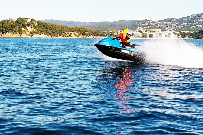 Jet ski tour in Lloret, Blanes and Tossa