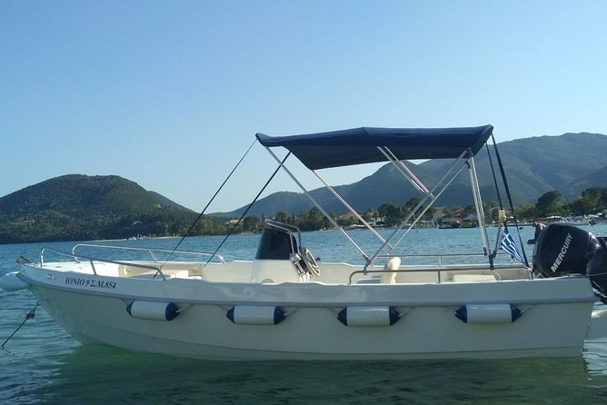 up to 7 people - No license motorboat to Skorpios&Meganisi - Ionion 9