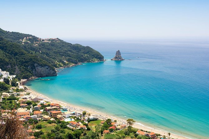 Alternative Corfu Swim Private Tour with Greek Traditional Lunch by Minivan