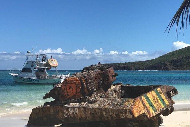 Culebra Power Boat Snorkeling & Beach Tour All Inclusive