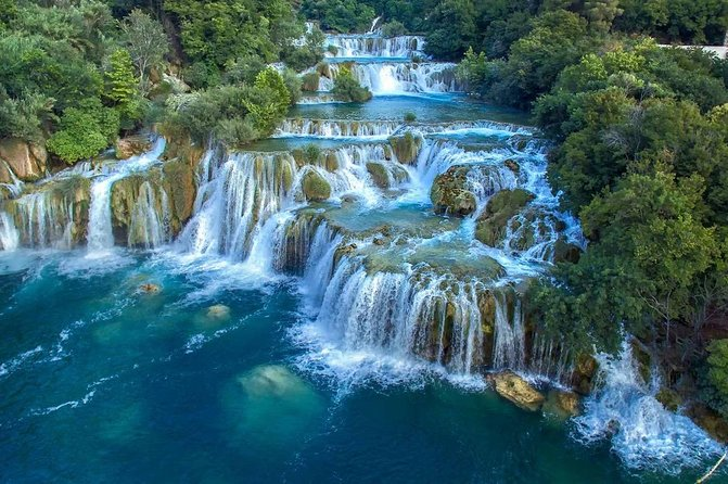 Krka National Park and Sibenik Town tour from Split ( up to 8 passengers )