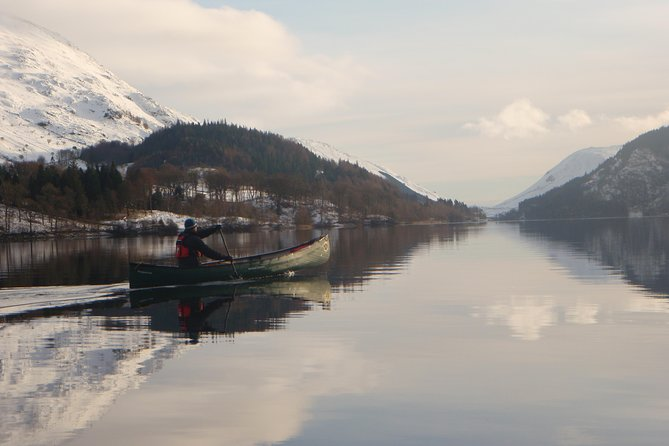 Canoe on Derwent Water
