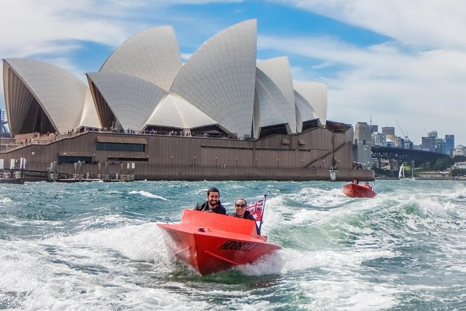 Sydney Speed Boat Adventure Harbour Tour