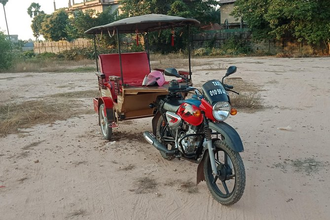 Mr.Vanny , Tuk Tuk Driver In Siem Reap. For transportation and guided tours.