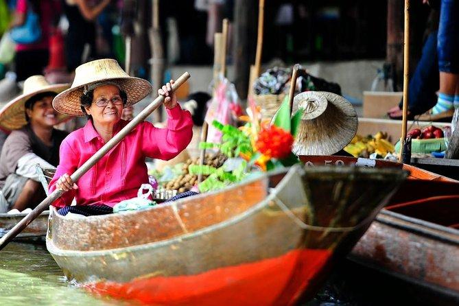 Train market - Floating market and Bang Kung temple
