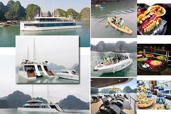All Inclusive FULL DAY on HIGH-END Halong and Lan Ha Bay CRUISES