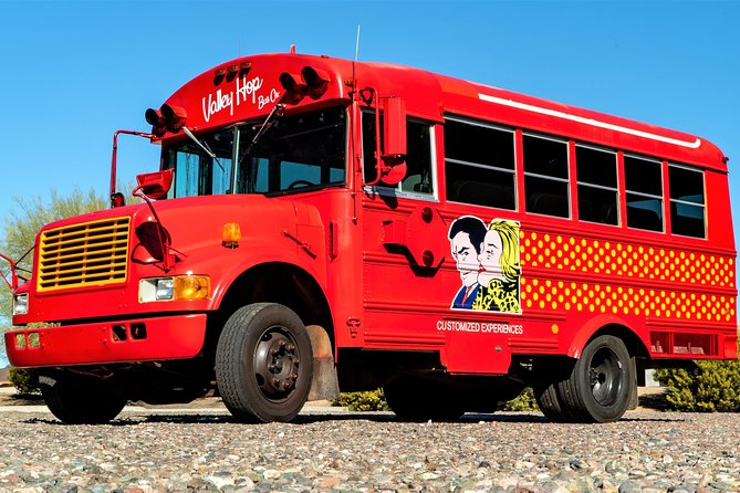 Take a Scottsdale/Valley Tour in a Retro Party Bus - Old Town/Scottsdale